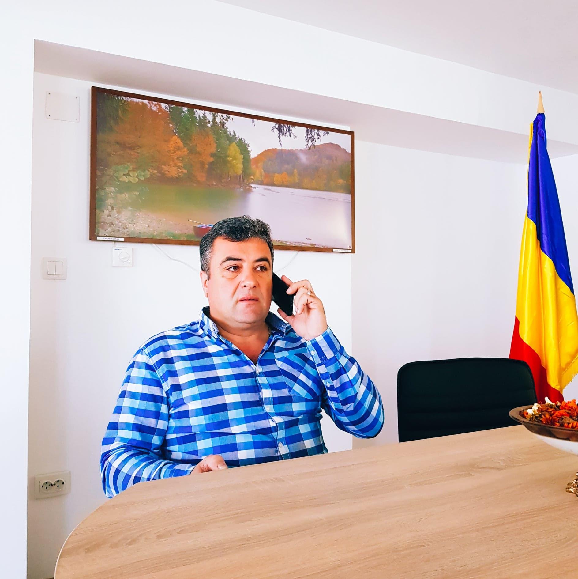"""Tiberiu Costea: """"Dezvoltarea Lungeştiului a mers într-o simetrie perfectă şi am reuşit"""""""