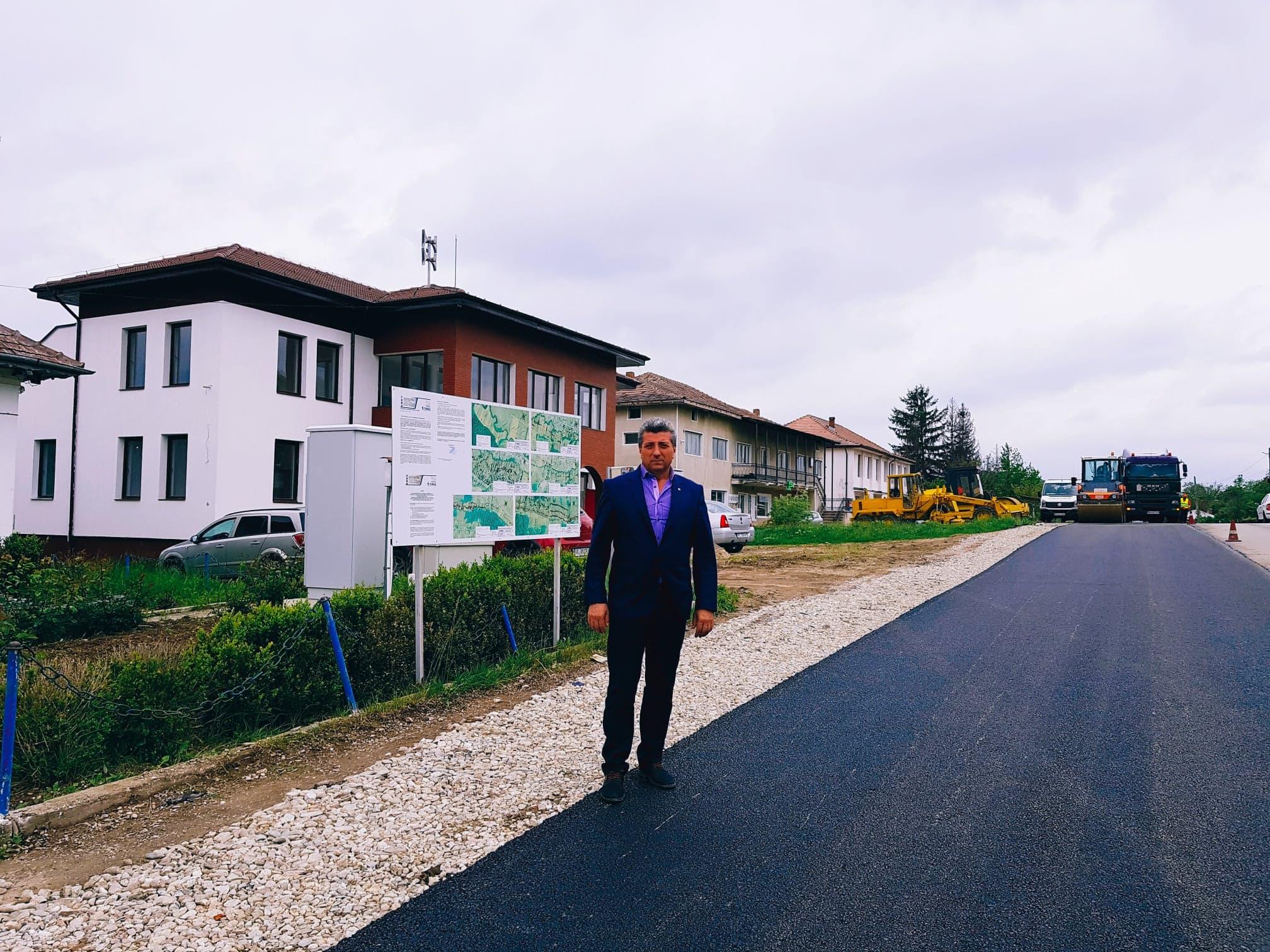 Investiţii finalizate cu succes de primarul Nicolae Concioiu
