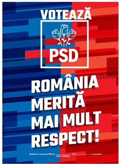 LISTA CANDIDAȚILOR PSD PENTRU ALEGEREA MEMBRILOR DIN ROMÂNIA ÎN PARLAMENTUL EUROPEAN