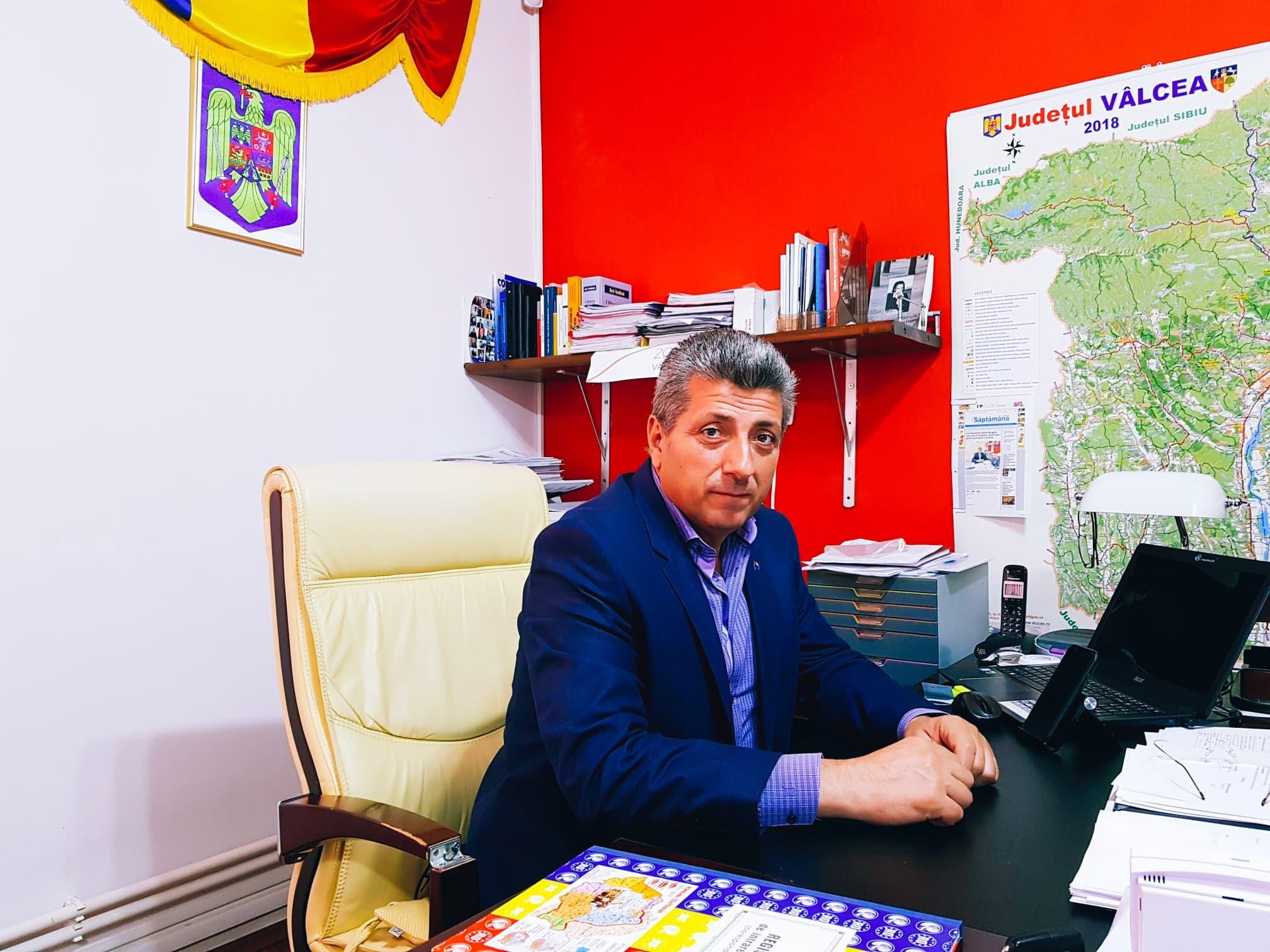 Una dintre promisiunile electorale ale PNL din campaniile electorale: branşarea satelor din Gușoeni la reţeaua de gaze