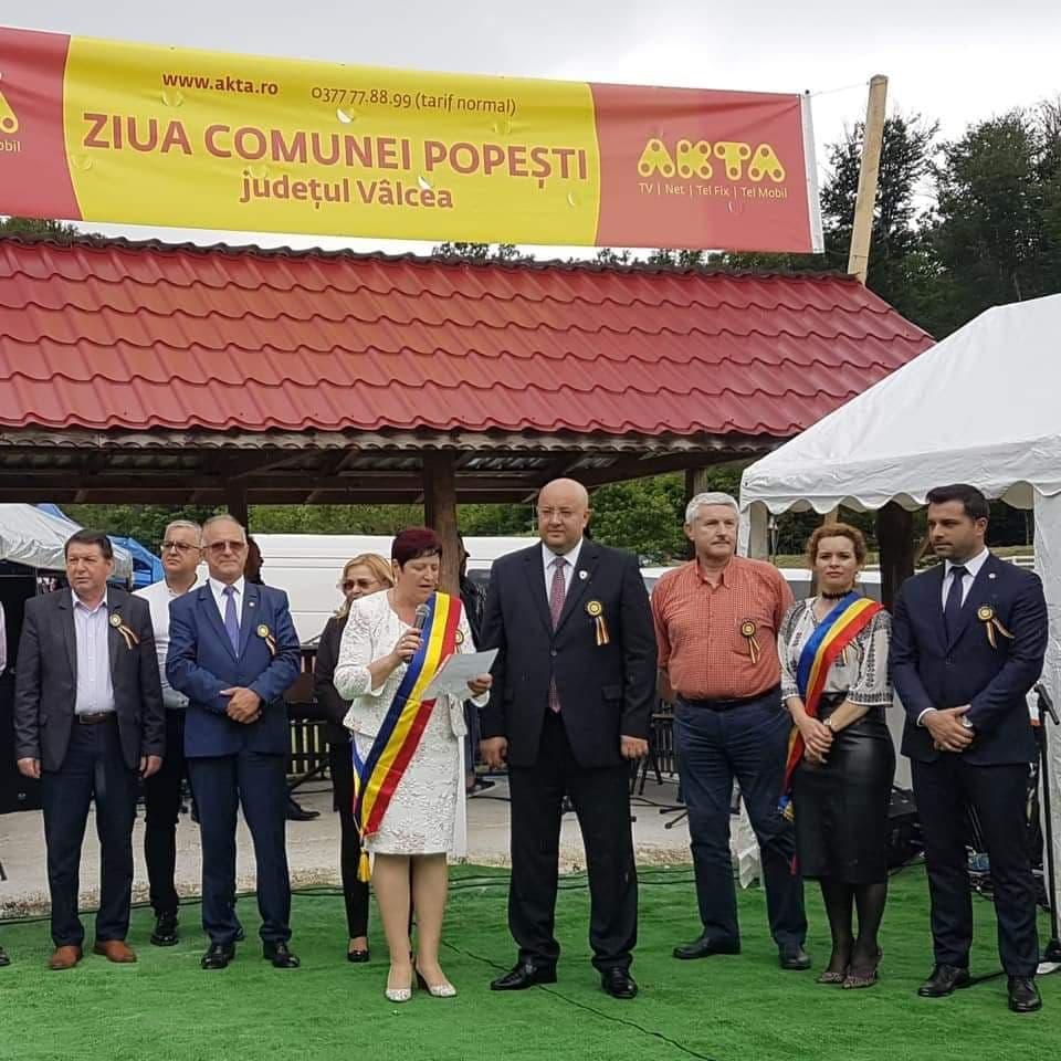 De Înălțare, Ziua comunei Popești a marcat cea de-a II-a ediție