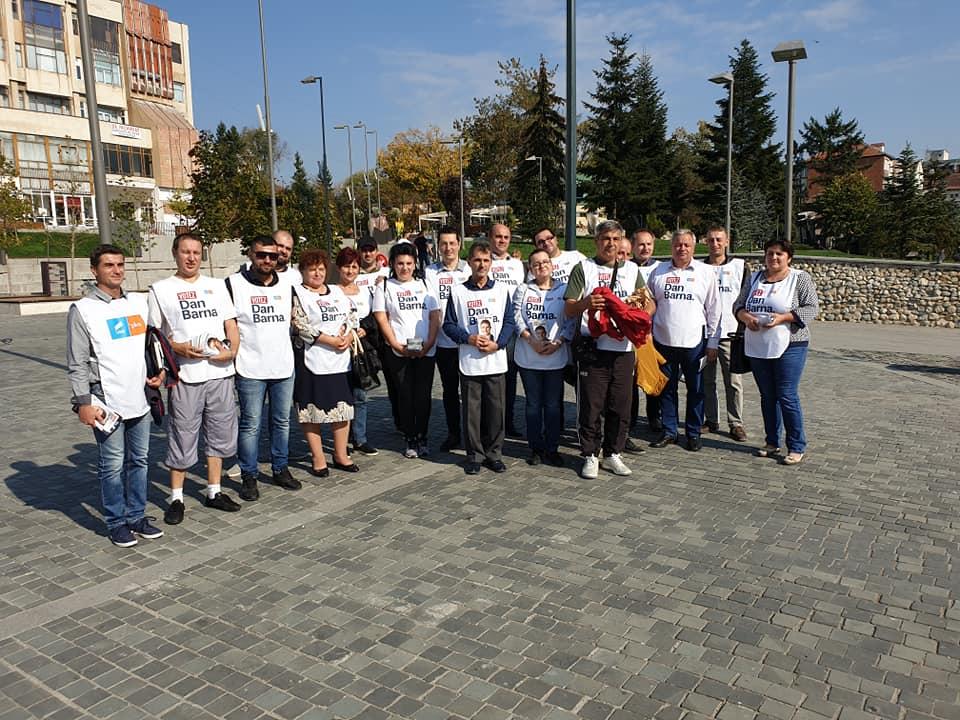 USR Vâlcea a început şi el campania electorală