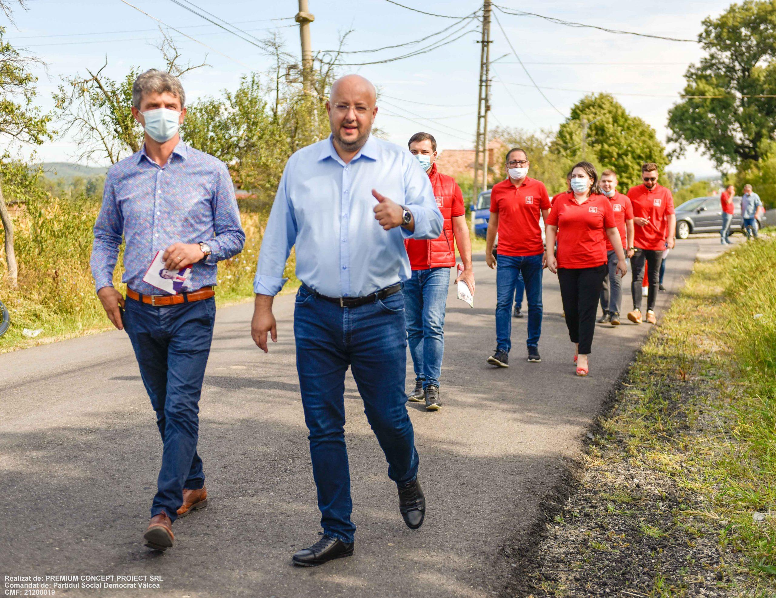 Obiectiv îndrăzneț al președintelui Constantin Rădulescu, pentru noul mandat: toate drumurile județene modernizate
