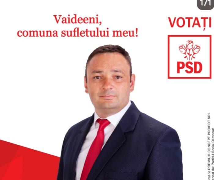 Daniel Băluţă, primarul investițiilor de succes la Vaideeni