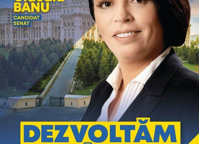 """Claudia Banu: """"Politica făcută de oameni capabili este singura cale prin care ne putem dezvolta"""""""