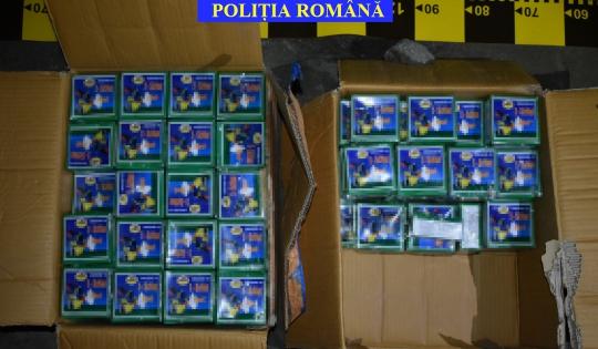 Peste 600 de kilograme de articole pirotehnice descoperite de autorități