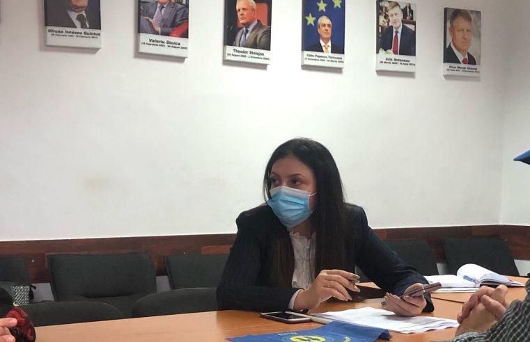 Claudia Banu şi-a început activitatea de senator