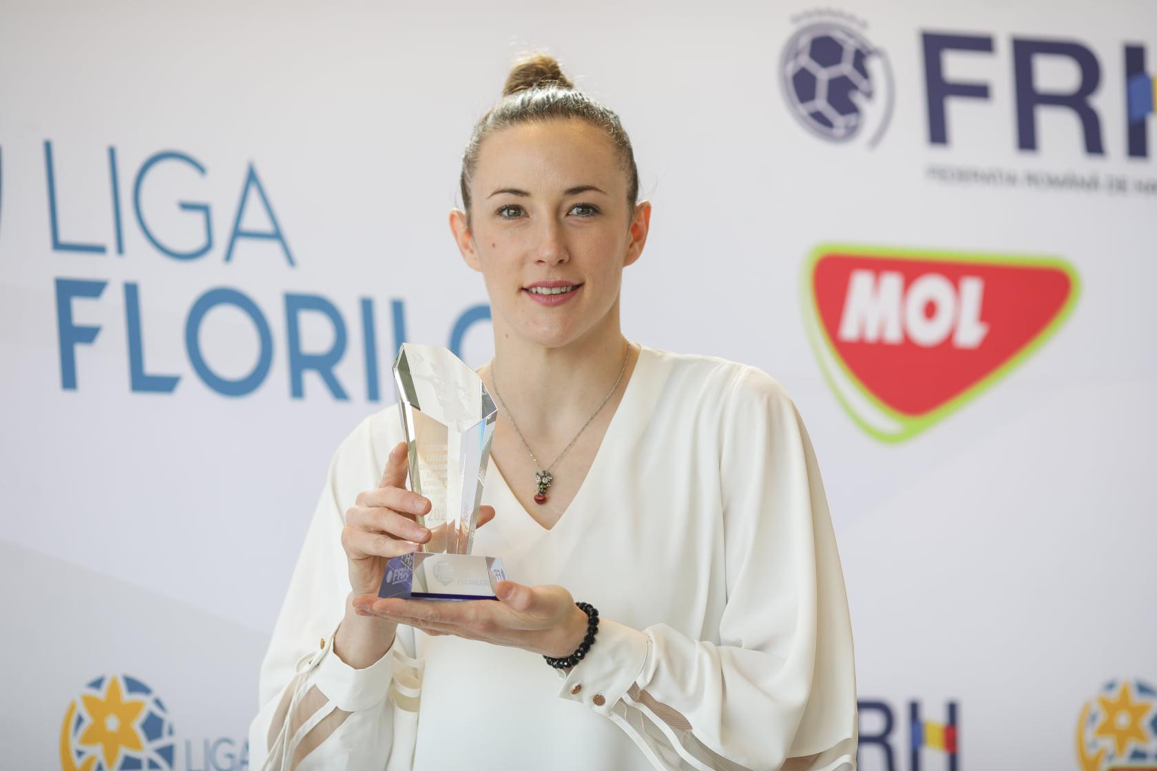 Kiki Liscevic a fost desemnată cea mai bună stranieră din campionat în sezonul trecut