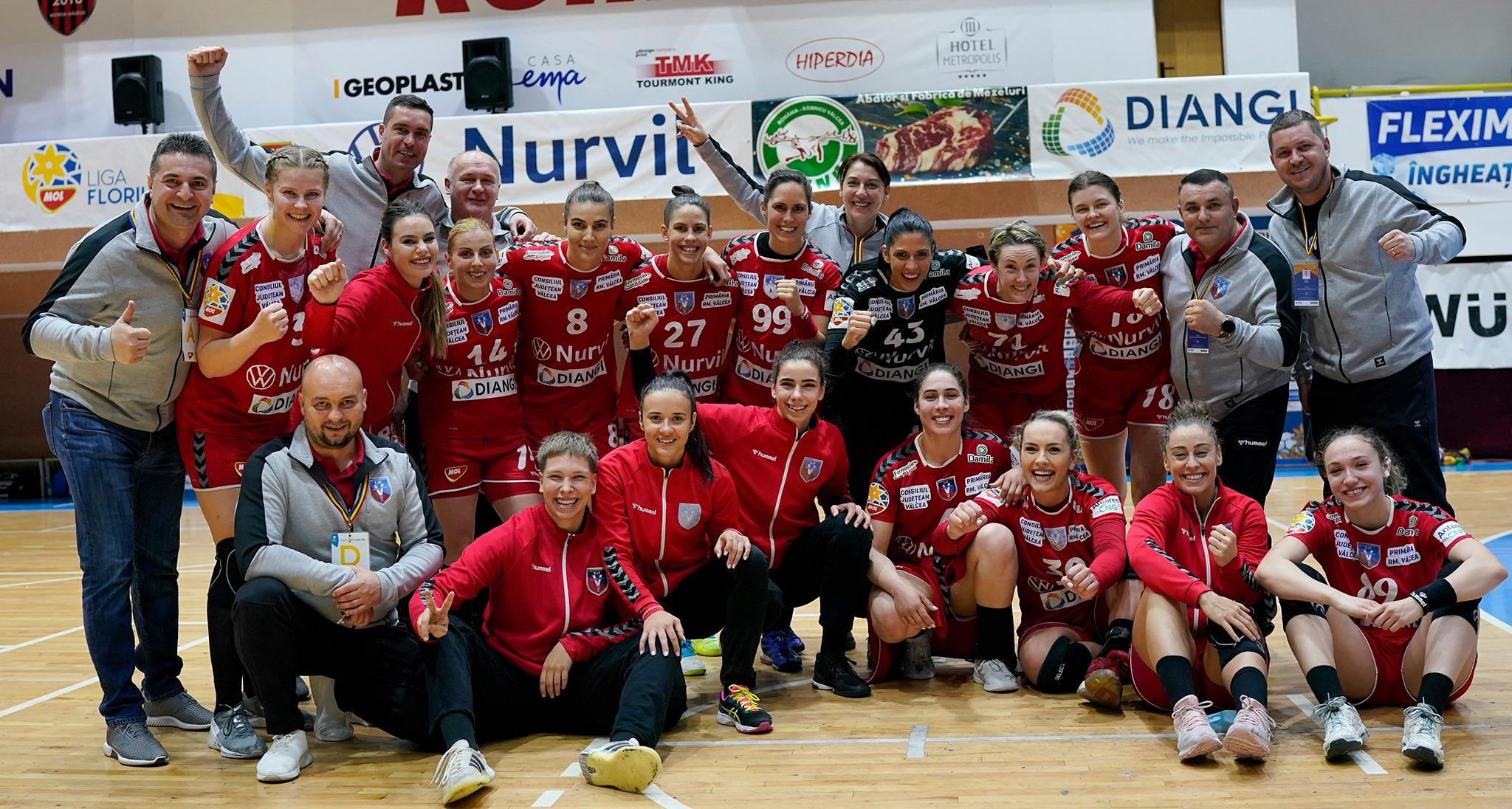 Vâlcea a debutat cu victorie în turneul de la Bistrița