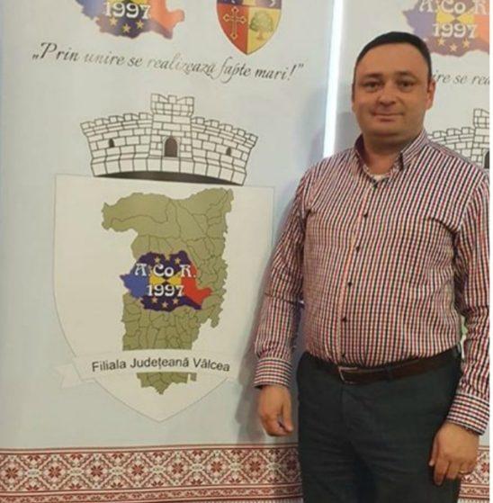 Primarul comunei Vaideeni, Daniel Băluță, rămâne președinte al ACOR Vâlcea