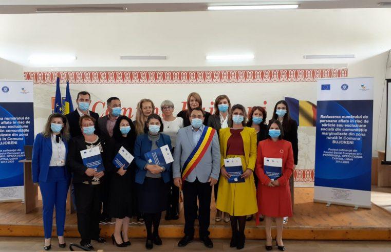 La Bujoreni s-a lansat un amplu proiect de educaţie şi incluziune socială