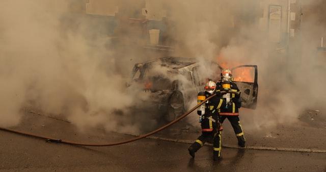 """Exercițiu al Inspectoratului pentru Situații de Urgență """"General Magheru"""" în localitatea Milcoiu"""