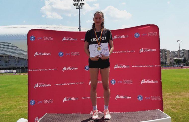 Două medalii de aur pentru junioara Ștefania Balint