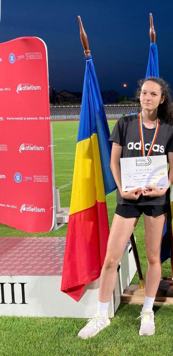 Bronz la 100 metri pentru Ștefania Balint