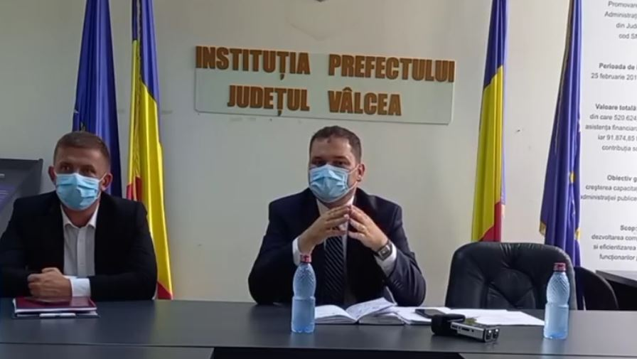 Ministrul Dezvoltării la Râmnicu Vâlcea: Investiții în valoare de 135 de milioane de lei pentru județul Vâlcea