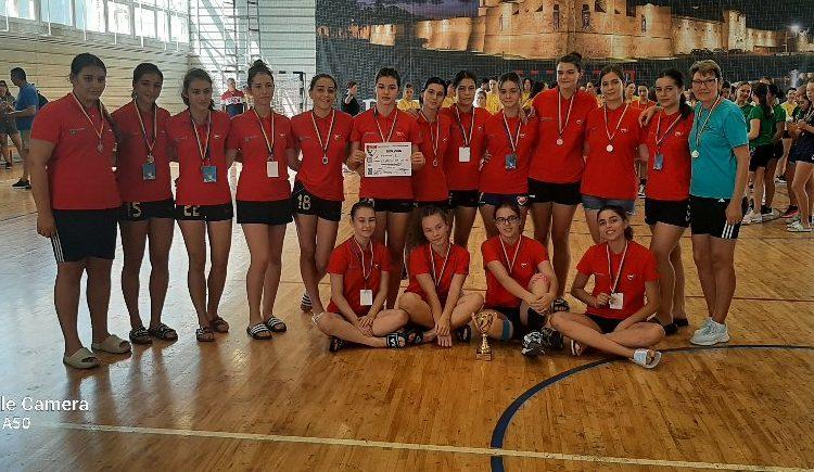 Junioarele II de la Chimia, argint la turneul de la Făgăraș