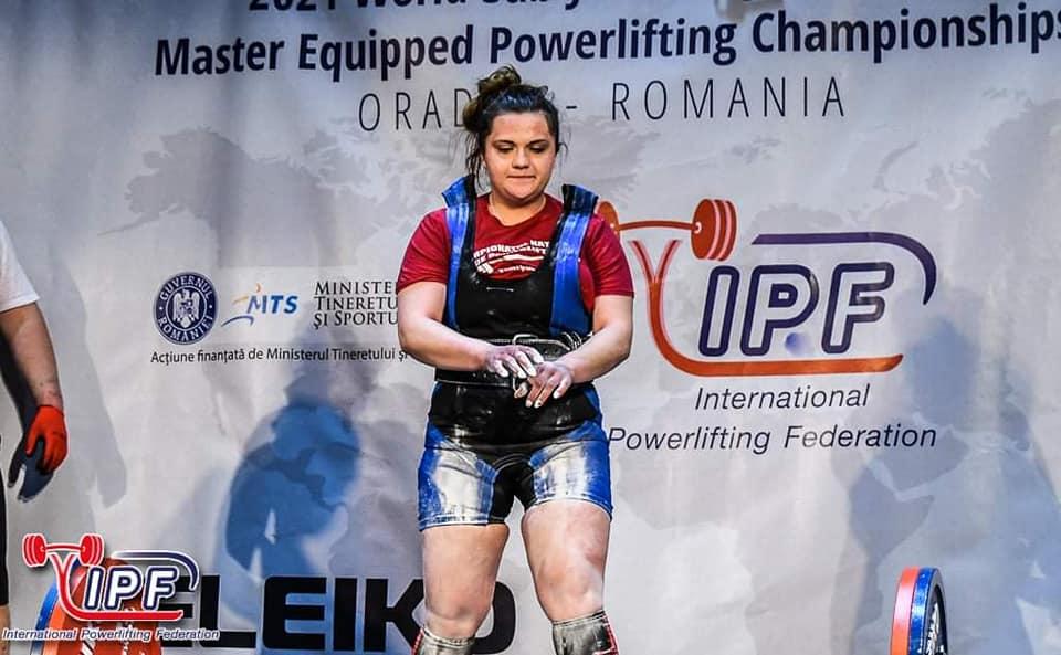 Trei medalii mondiale pentru Laura Dabu