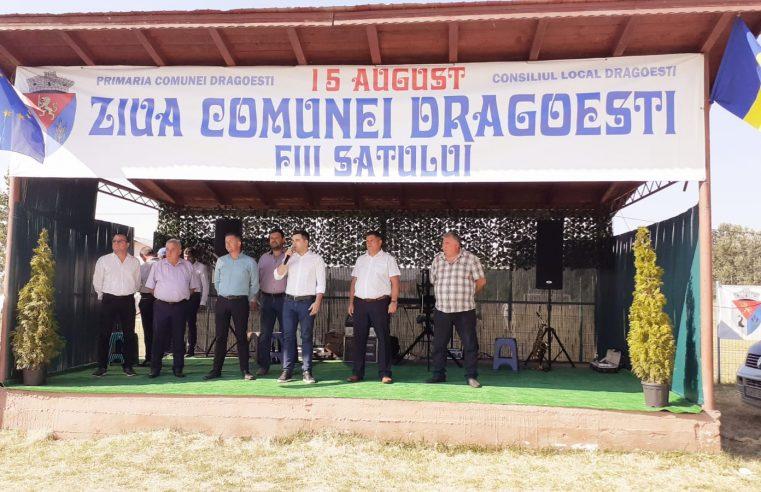 """Comuna Drăgoeşti, la ceas de sărbătoare de Sfânta Marie Mare: """"O sărbătoare a sufletului"""""""
