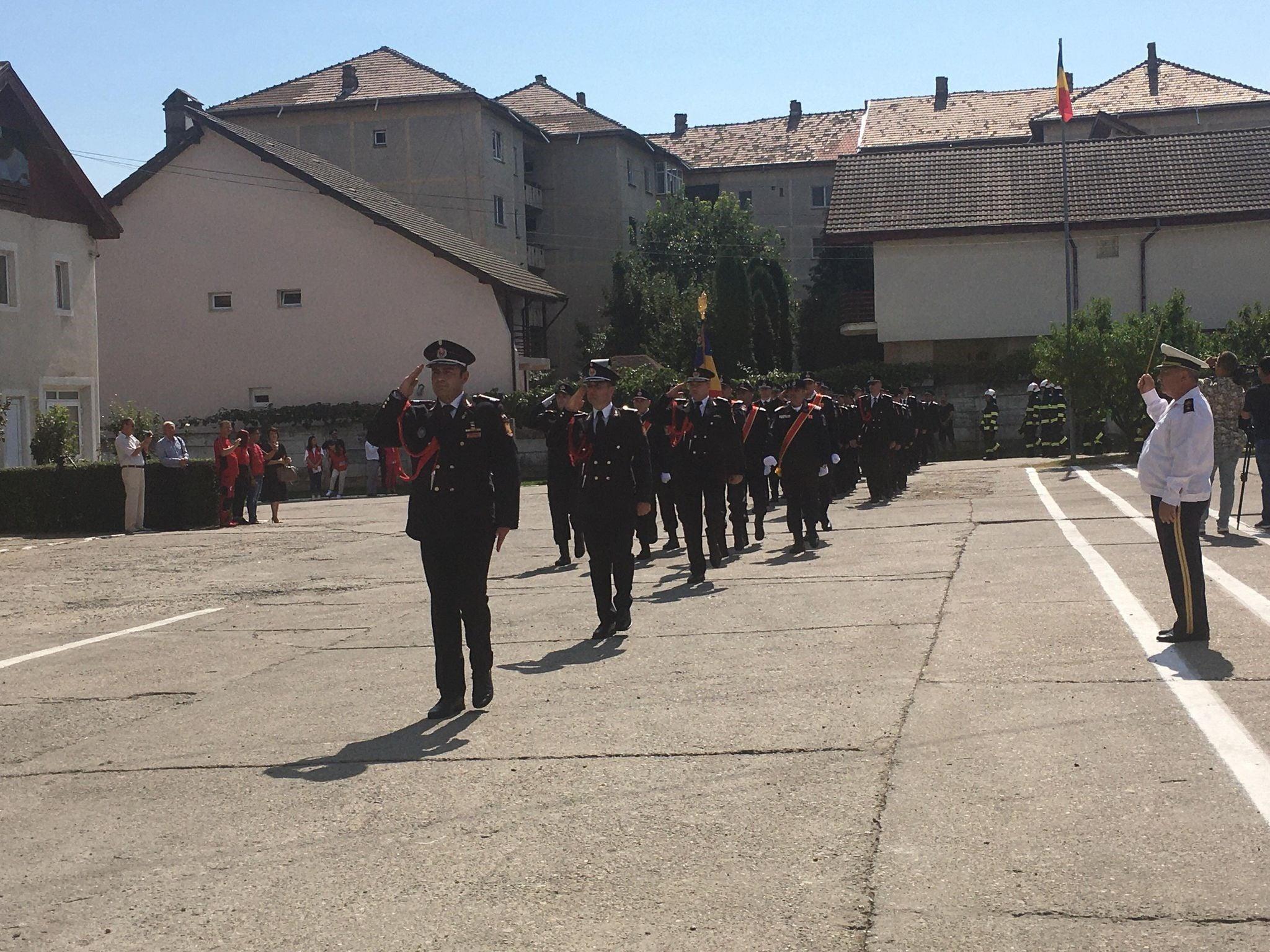 13 septembrie – Ziua pompierilor, sărbătorită la Vâlcea