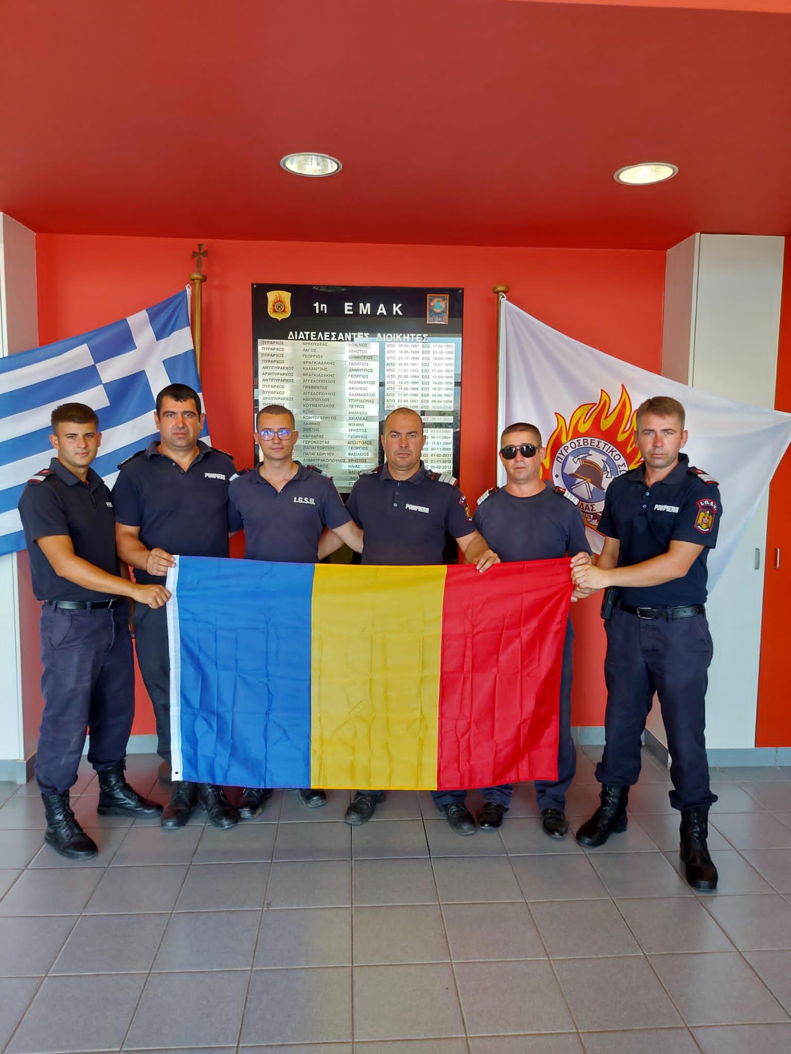 Interviu cu pompierii vâlceni care şi-au ajutat colegii din Grecia să stingă incendiile devastatoare din ultimele luni